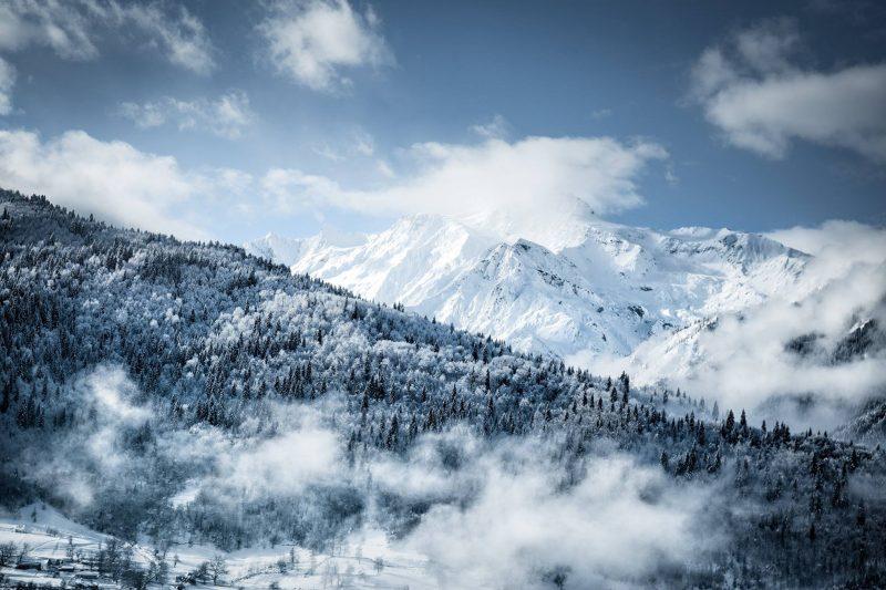 Gruzínsko (ľadovec Chalaadi)